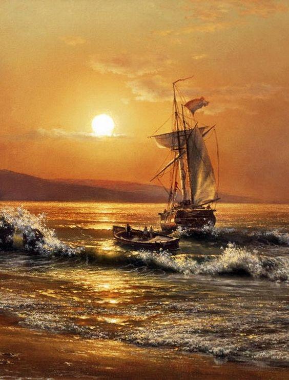 Couchers de soleil coucher de soleil pinterest - Palpitations le soir au coucher ...