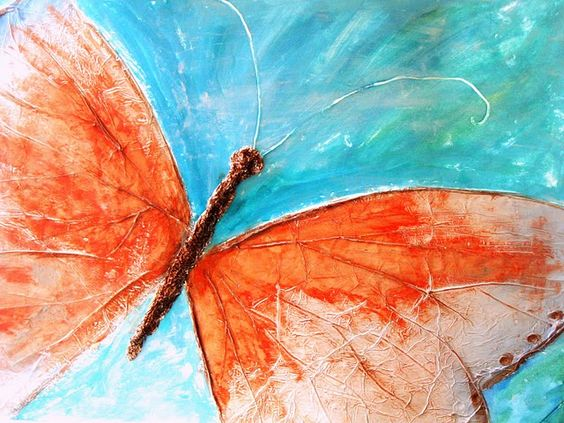 Tutorial Painting Method To Get Effect Of Veins Watercolor