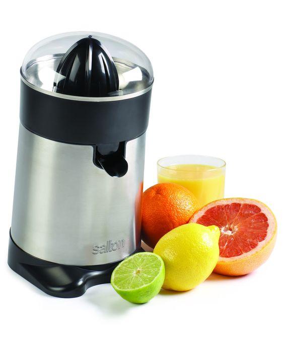 salton stainless steel citrus juicer small appliances walmart canada online shopping. Black Bedroom Furniture Sets. Home Design Ideas
