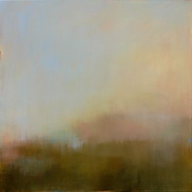 Misty View from Above by Jacquie Gouveia, Painting - Acrylic | Zatista