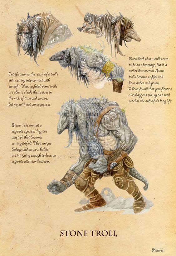 Stone Troll: