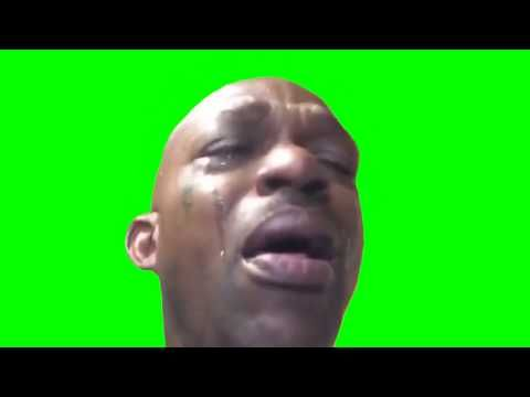 Black Guy Crying Meme Greenscreen Free Download Youtube Crying Man Crying Meme Funny Vines Youtube