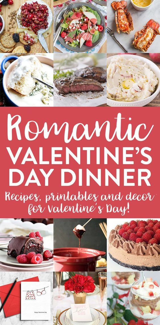 Romantic valentine 39 s day dinner meal plan for Valentine day dinner recipe