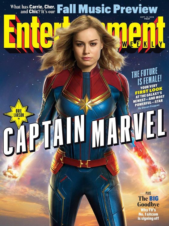 Captain Marvel exciting First Look Photos