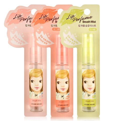 Yummy breath spray from Etude House!   *Apple flavour not available