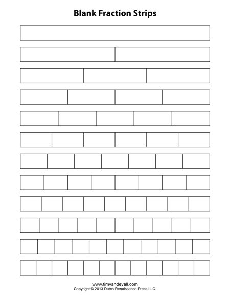 Fraction Strips Lesson Plans 3rd Grade - fraction wall fractions ...