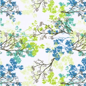 Erin Ries - Robin - Branches in White