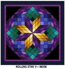 """Wall Hanging Quilt Kits---36"""" x 36"""" NEW"""