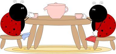lady bug tea party