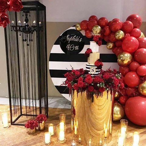 Wedding Reception Ideas Big City Glam Wedding Table Settings