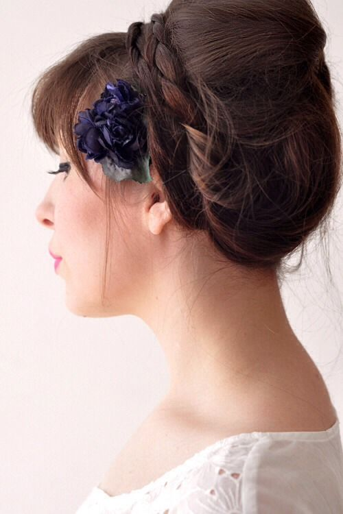 Easy, Fast, and Cute Updo For Medium To Long Hair #Beauty #Trusper #Tip