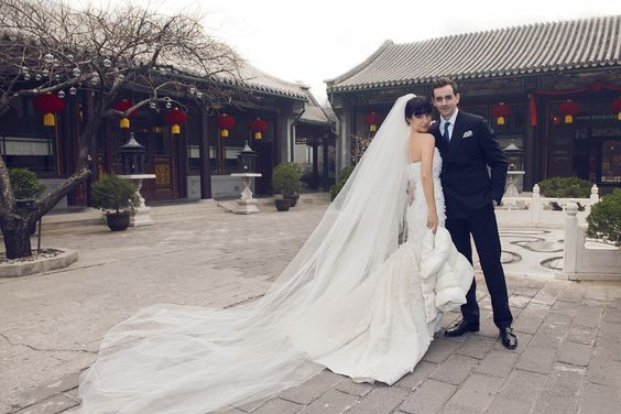 Victoria Tang and Christopher Owen - Bejing, China