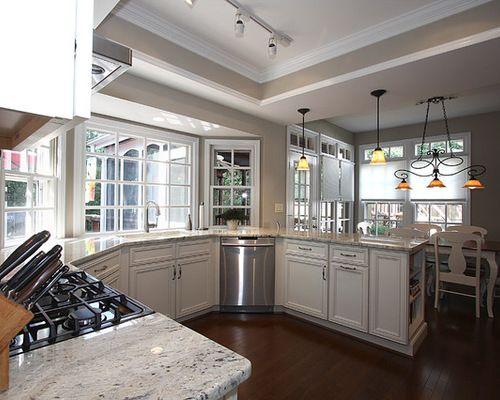 Corner Kitchen Sink With Dishwasher Trendy Kitchen Backsplash Kitchen Design Kitchen Redo