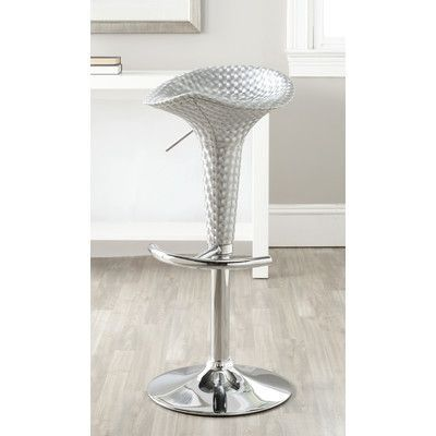 Safavieh Flynn Adjustable Height Swivel Bar Stool