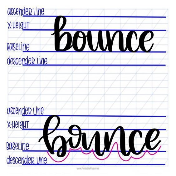 Free Hand Lettering Practice Sheets 9 Styles Download All 9