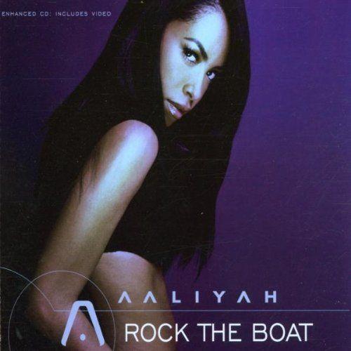 Aaliyah – Rock the Boat (single cover art)