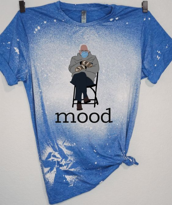 Excited To Share This Item From My Shop Bernie Sanders Mittens Shirt Bernie Sanders Meme Shirt Inauguration Day Mitten In 2021 Bleach Shirts Mood Shirts Meme Shirt