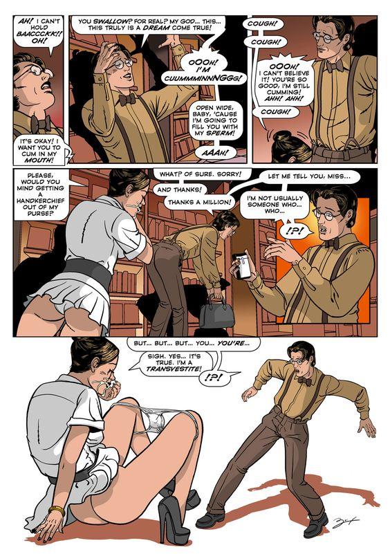 Кроссдрессеры комиксы