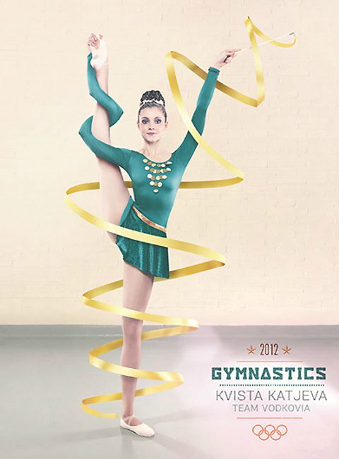 Surrealist London Olympics 2012 by Oli Kellett