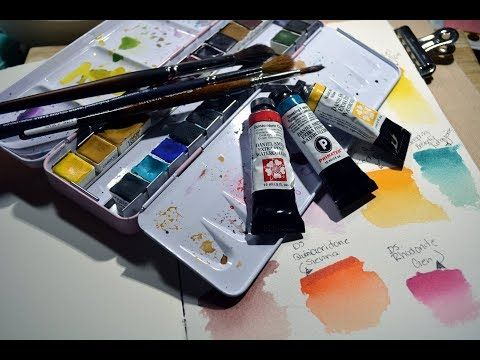 Most Of My Favorite Watercolour Colours By Ds And Stoneground