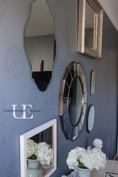Mirrored Wall via Unexpected Elegance