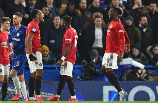 Man Utd Stun Chelsea To Close Gap On Top Four In 2020 Chelsea Stamford Bridge Anthony Martial