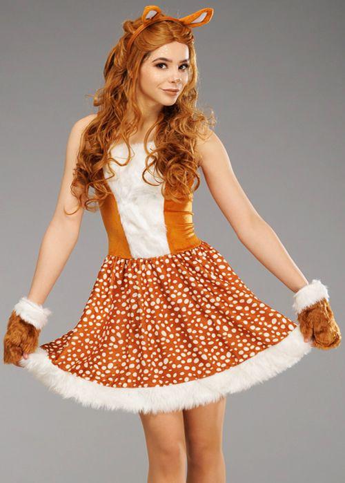 Deer Me Womens Adult Dress