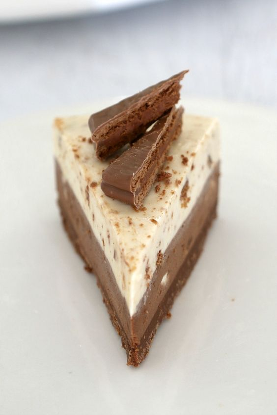 It doesn't get any more delicious than this No-Bake Double Layer Tim Tam Cheesecake!