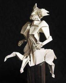 picturespost: Beautiful origami art