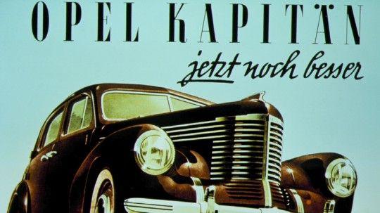 Opel Kapitän, Oldtimer, Autolegende, April 2013