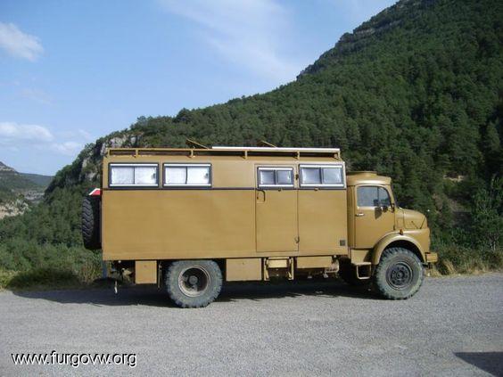 Mercedes benz 710 4x4 camper overland pinterest 4x4 for Mercedes benz 4x4 truck