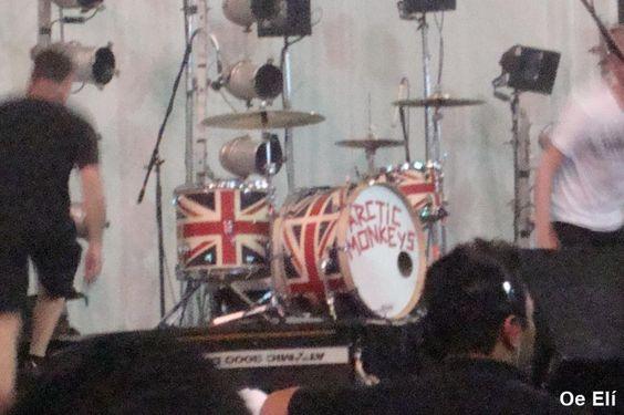 Es tan bella esa batería de The union jack