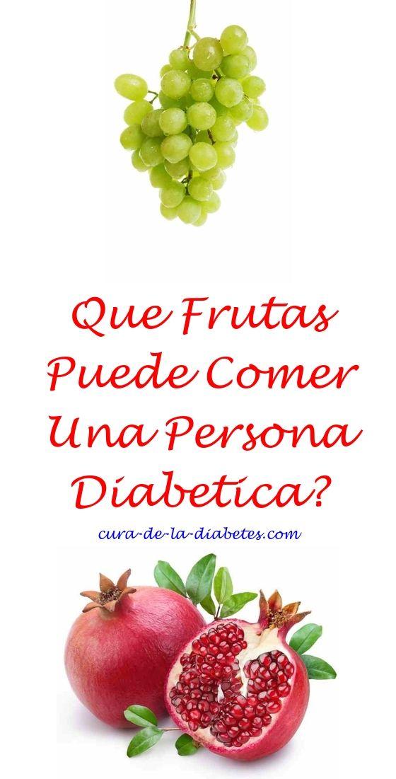 Q frutas puede comer una persona diabetica