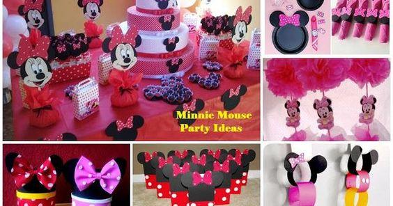 30 ideas para una fiesta dedicada a Minnie Mouse