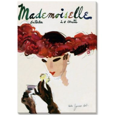 Mademoiselle II Canvas Wall Art  found at @JCPenney