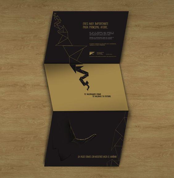 Principal Financial Group Brochures by Vanessa Rojas, via Behance