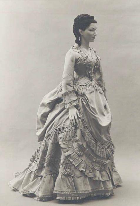 Dress   c. 1871   French