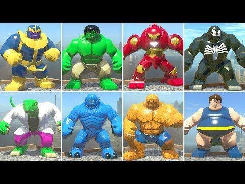 arme h Marvel Avengers Custom lego figurine HULK