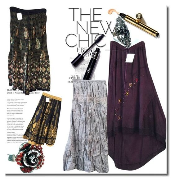 """""""The New Chic Gal"""" by era-chandok ❤ liked on Polyvore featuring gift, skirts, sale, offer and gothicskirts"""