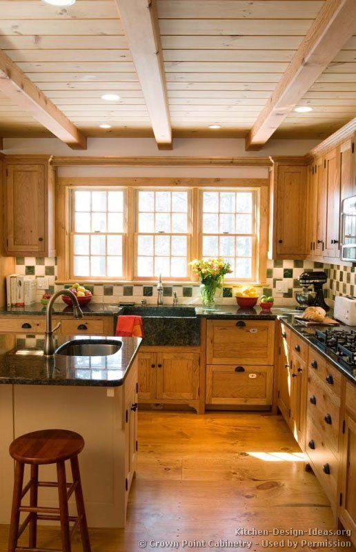 Early American American Kitchen And Kitchens On Pinterest