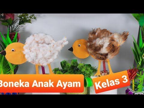 How To Make Stuffed Chicks From Used Cardboard Class 3 Theme 2 How To Make Stuffed Chicks Youtube In 2021 Cardboard Chicken Dolls