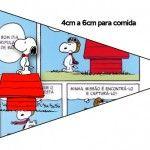 Bandeirinha Sanduiche Snoopy: