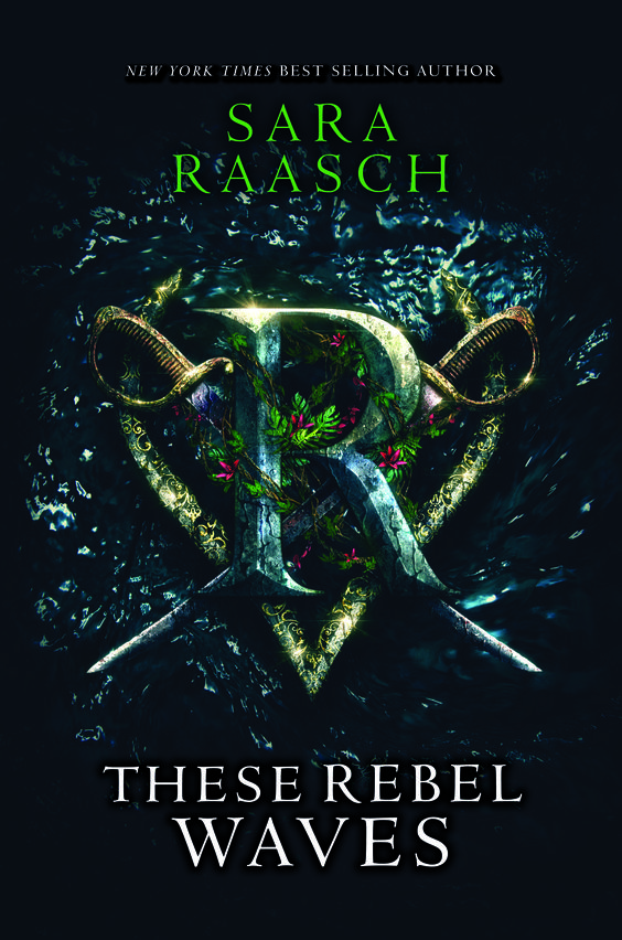 #CoverReveal  These Rebel Waves (Stream Raiders, #1) by Sara Raasch