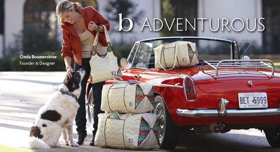 Cinda Boomershine Founder & Designer Handbags, Tote Bags & Travel Bags of cinda b