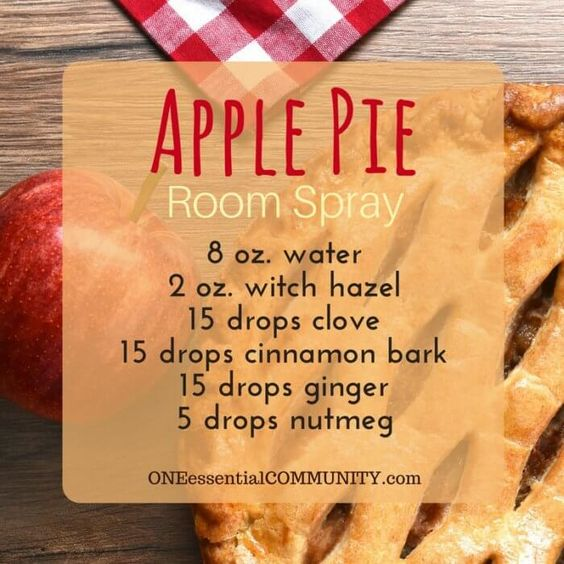 20 Fall Room Sprays {made with essential oil} that make your home smell like…
