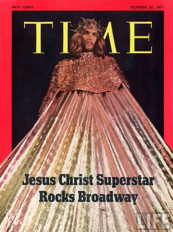 """TIME cover: 10-25-1971 Actor Jeff Fenholt as Jesus in Broadway play """"Jesus Christ Superstar."""""""