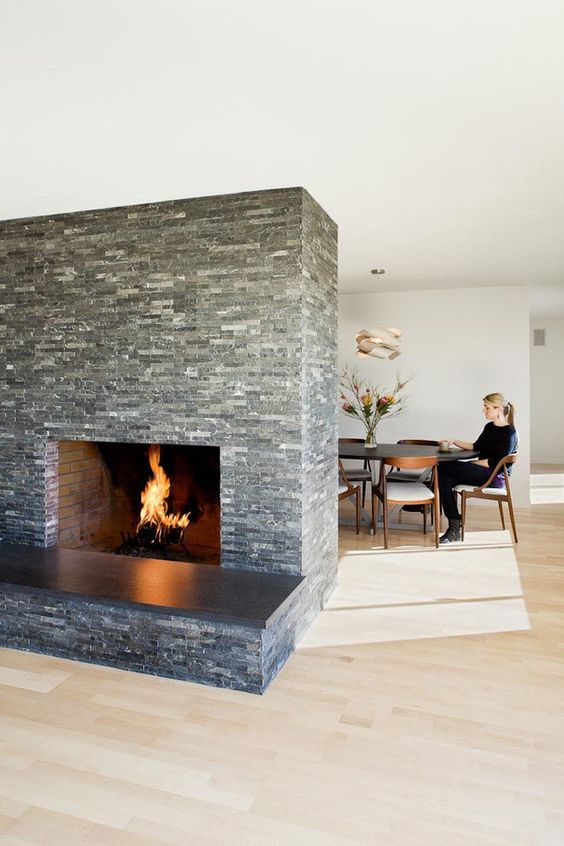 Stone Slab For Fireplace Hearth Fireplace Pinterest