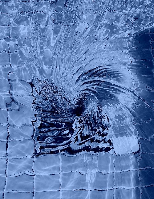 Pin By Gilly Haigh On A Splash Of Colour Water Swirl Water Shades Of Blue