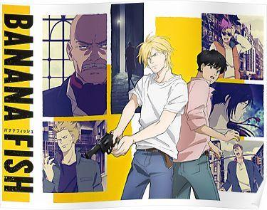 Banana Fish Poster By Withoutname Anime Anime Wall Art Banana