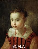 ******** Portrait of a Girl', 16th or early 17th century. Found in the collection of the Regional A Deineka Art Gallery, Kursk, Russia. Arti...: